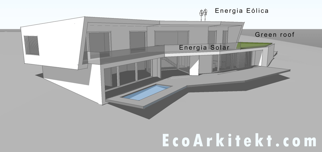 Projectos de Arquitectura - Arquitectar 09 - Projecto Z - Perspectiva 1
