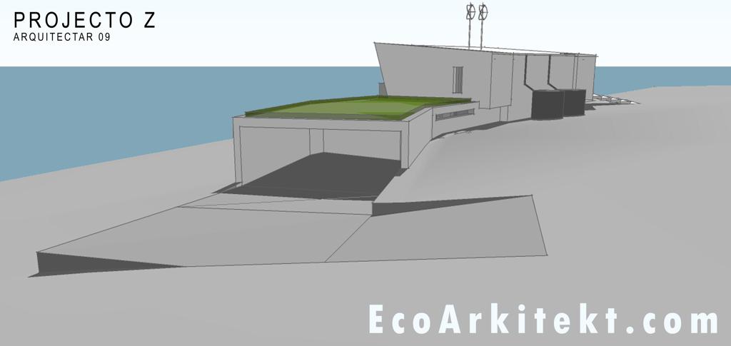 Projectos de Arquitectura - Arquitectar 09 - Projecto Z - Perspectiva 2