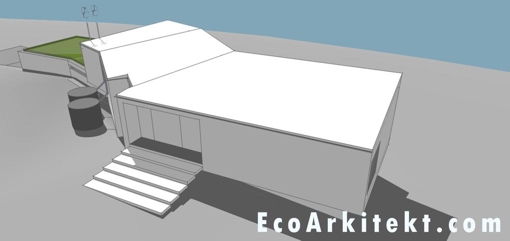 Projectos de Arquitectura - Arquitectar 09 - Projecto Z - Perspectiva 4