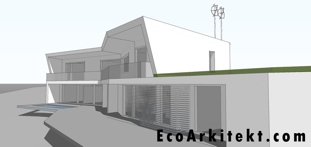 Projectos de Arquitectura - Arquitectar 09 - Projecto Z - Perspectiva 5